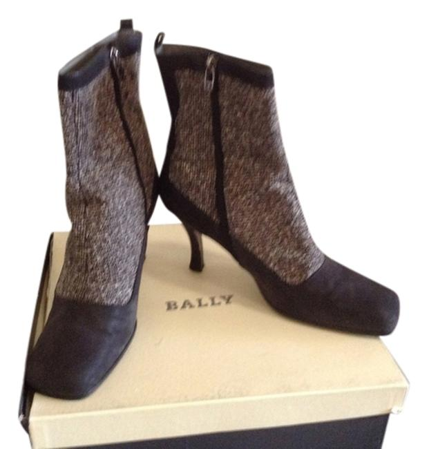 Item - Grey Vintage Leather Boots/Booties Size US 8.5 Regular (M, B)