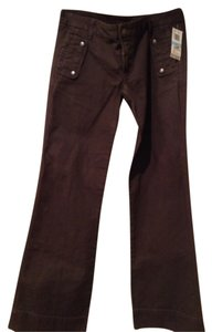 Citizens of Humanity Boot Cut Pants Khaki brown