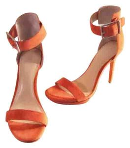 Calvin Klein Collection Mandarin Orange Platforms