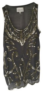 Sabine Top Gold sequins/Grey