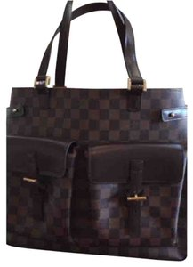 Louis Vuitton Tote in Plaid/brown