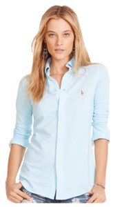 Ralph Lauren Button Down Shirt Aqua