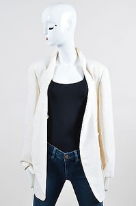 Giorgio Armani Silk Cream Jacket