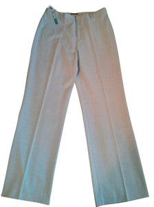 Gap Wool Blend Straight Pants light blue