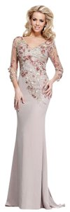 Tarik Ediz Size 14 Color Of Bride Evening Gown Full Lenghth Designer Dress