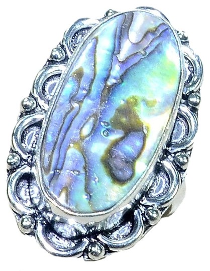 Other Large Abalone Shell Ring 8