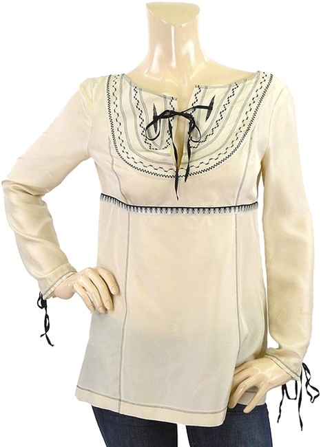 Preload https://item5.tradesy.com/images/philosophy-di-alberta-ferretti-ivory-cream-silk-embroidered-tunic-blouse-size-6-s-1106214-0-0.jpg?width=400&height=650