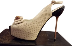 Bertollini Light beige/black Pumps