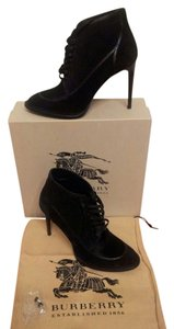 Burberry English Herritage Pony Sz 40 Black Boots