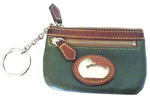 Dooney & Bourke Leather Coin Purse With Key holder