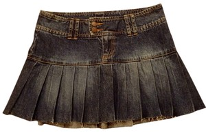 Nine Mini Skirt Denim