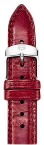 Michele Michele 18mm Red Genuine Snake Strap MS18AA420600 CSX Deco Caber