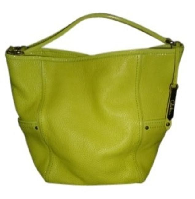 Item - Bright Yellow Leather Hobo Bag