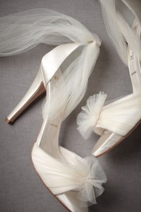 Something Bleu Bridal Ballerina Wedding Shoes Wedding Shoes