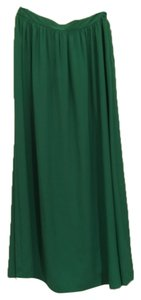 Topshop Maxi Skirt Green
