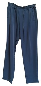Zara Relaxed Pants Blue
