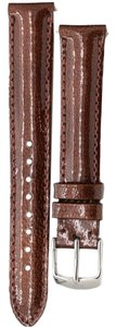 Michele Michele 16mm Safari Genuine Patent Leather Strap MS16AA350133 Deco 16 Lilou