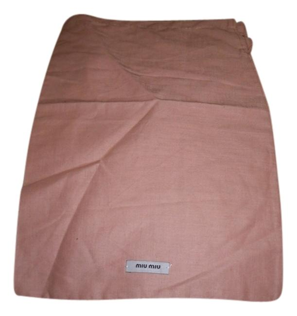 Item - New Sleeper/ / Protective Cover 8 Inch X 13 Inch Length. Drawstring Dusty Rose with Black Logo Cotton Weekend/Travel Bag
