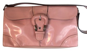 East 5th Essentials Satchel in Pink Glazed Leather