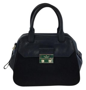 Kate Spade Satchel in Navy and Black