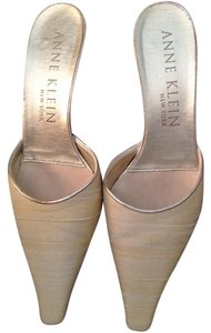 Anne Klein Faille Shantung 6m Pump Beige Formal