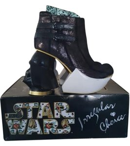 Irregular Choice Star Wars Heels Wedges black Platforms