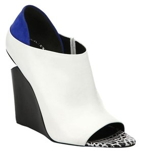 Alexander Wang White Cobalt Wedges
