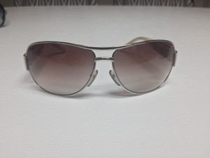Marc Jacobs Marc Jacobs Collection Silver Aviator Sunglasses