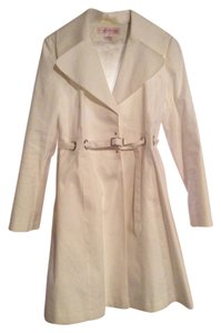 Via Spiga Spring Trench White Jacket