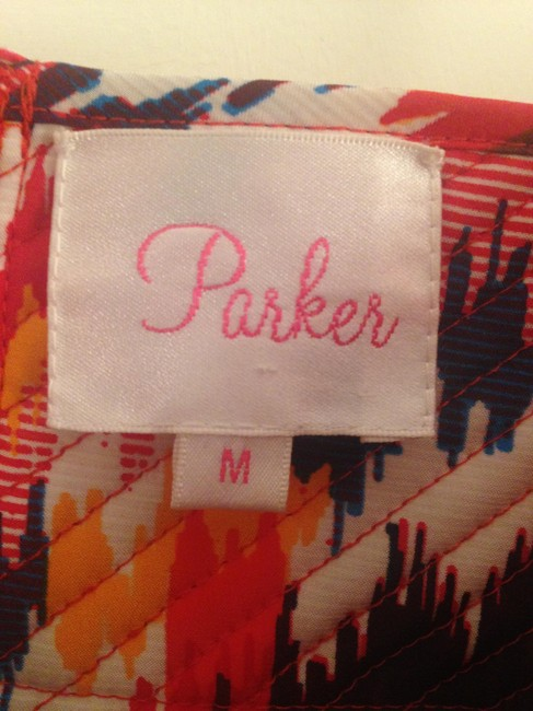 Parker short dress Red/Orange/Purple/White Bustier Summer Fall Party on Tradesy