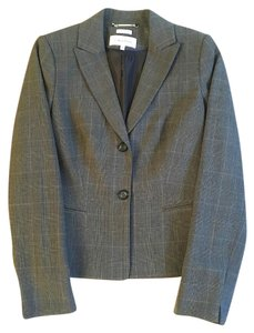 Calvin Klein Jacket CHARCOAL GREY PLAIDS Blazer