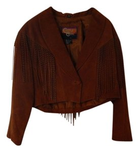 Cripple Creek Light/Medium Brown Leather Jacket
