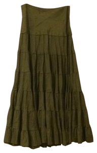 FEI Maxi Skirt Green