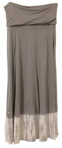 INC International Concepts Maxi Skirt Grey