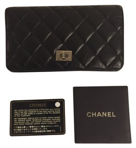 Chanel Chanel Quilted Black Wallet