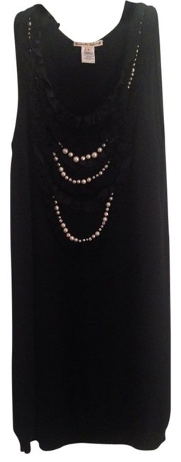 Nanette Lepore Party Pearl Diamond Necklace Dress