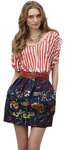 Anthropologie Mini Skirt Multi