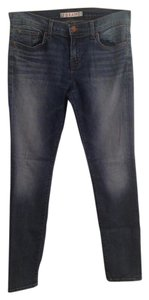 J Brand Denim Straight Leg Jeans-Dark Rinse