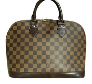 Louis Vuitton Alma Damier Damier Canvas Shoulder Bag