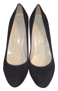 J.Crew Martina wedges Blac Wedges