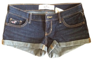 Hollister Cutoff Stretchy Mini/Short Shorts Denim