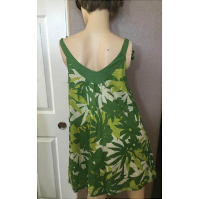 American Eagle Outfitters short dress Tropical Green print on Tradesy