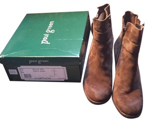 Paul Green Earth suede Boots