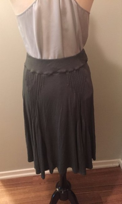 Anthropologie Jersey Skirt Army green