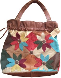 Lucky Brand Vintage Style Patchwork Tote in Multi/patch