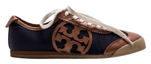 Tory Burch Sneakers Designer Logo Neutral Comfortable Trendy Cool 2014 2015 Laces Nude Fall Brown and tan Athletic