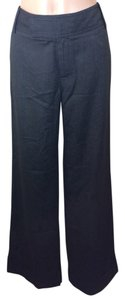 Banana Republic Dress Lined Trouser Pants Charcoal Gray