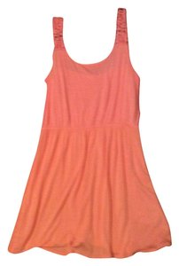 Miss Daisy short dress Peach on Tradesy
