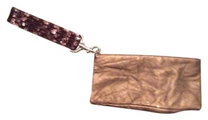 New York & Company Wristlet in Brown- Sequence
