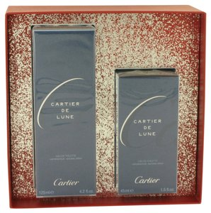 Cartier Cartier CARTIER DE LUNE Womens Perfume GIFT SET 4.2 oz 125 ml Eau De Toilette Spray + 1.5 oz 45 ml Eau De Toilette Spray